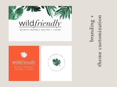 Wild Friendly LogoConcept