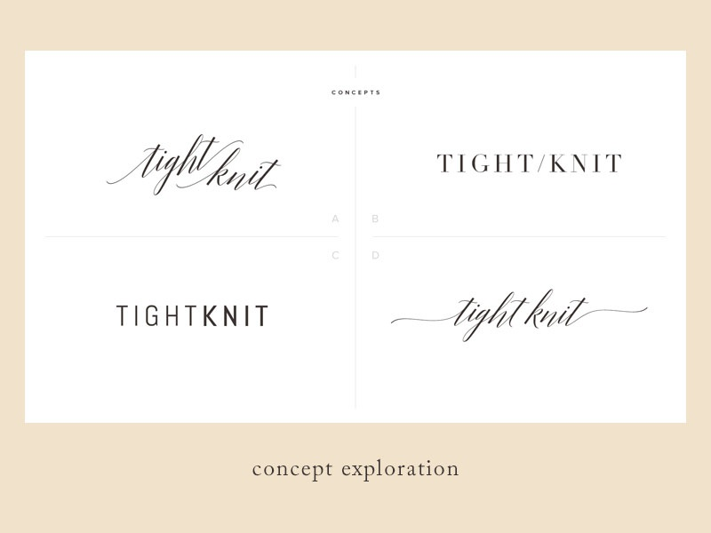 Tightknit concepts