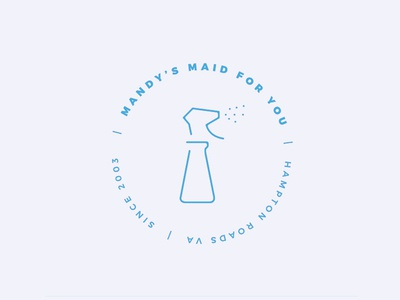 Mandy's Maid For You Badge