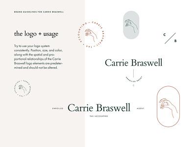 Accountant Logo illustration feminine minimal logo clean branding