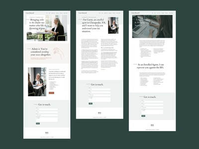 Accountant Branding + Website Redesign