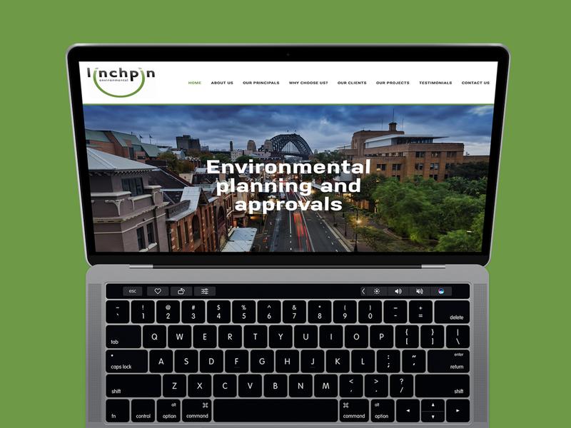 Linchpin Environmental Website websites website web design web minimal design color squarespace