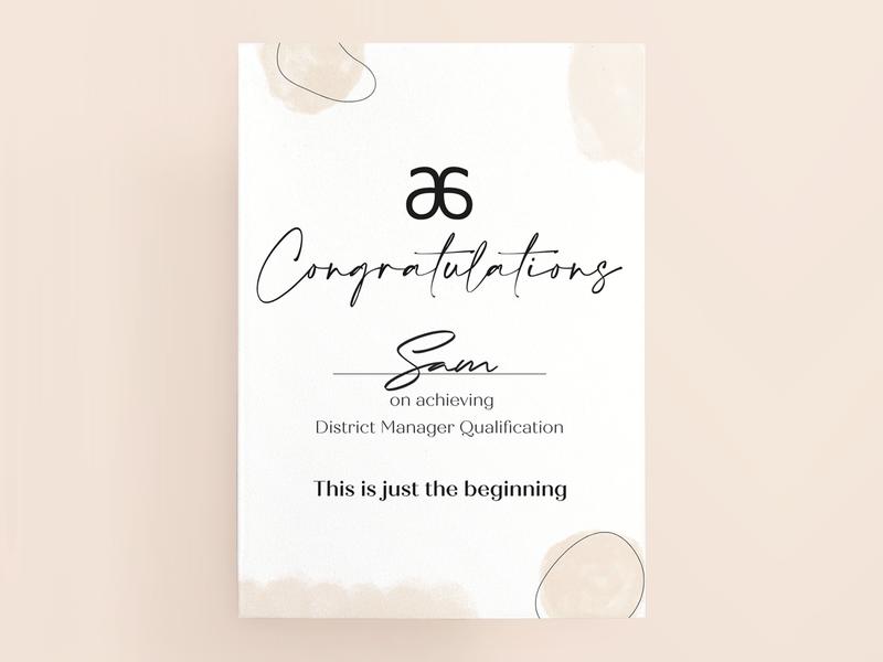Arbonne Congratulations Certificate prints printing print print design logos minimal logo design logo illustration flyers flyer design artwork flyer design color certificates certificate design certificate branding