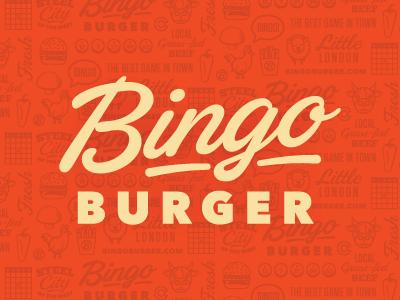 Bingo burger logo