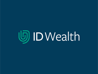 ID Wealth consultant consulting financial investing insurance blue green fingerprint