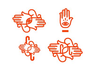 Church Ave Yoga: Logo Exploration