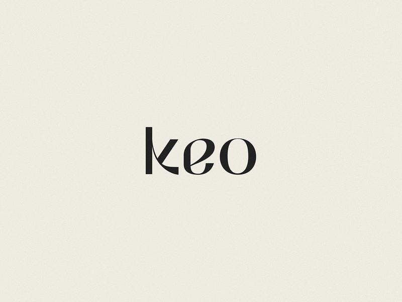 KEO | LOGOTYPE CONCEPT skincare logo monograms monogram minimal logo sophisticated logo logotype concept logotype logos logo design logomark logo concept k logo k logomark feminine design fashion brand elegant logo branding identity branding concept branding beauty brand