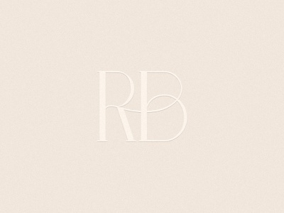 RB | Photographer Monogram wedding design elegant design elegant font small business branding brand design logotype feminine logo logomark monogram rb rb logo rb monogram minimalist logo ligature logo photography business monochromatic branding design branding minimal elegant
