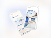 Hotel Mobile App Concept minimal clean app app design mobile design ux mobile ui typography showcase light layout interface design