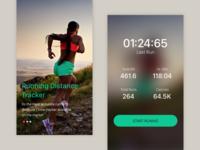Running app