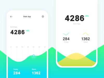 Random Stats App