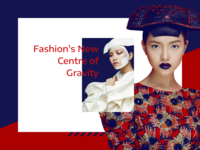 Fashion article layout