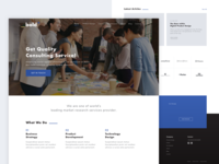 Bold Works Homepage Design