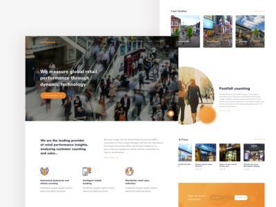 Springboard Website Homepage Concept