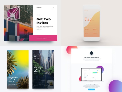 My #Top4Shots from 2018 graph stats statistics design ux app fashion homepage layout interface website web typography minimal flat clean ui