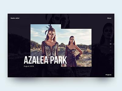 Photographer Portfolio WIP fashion layout flat website web design web ux design ui design ui typography photography