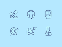 iOS Wired icons