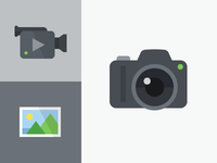 Video And Photography Icons
