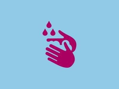 Washing Hands Icon dutch government custom icon design icons icon washing hands clean