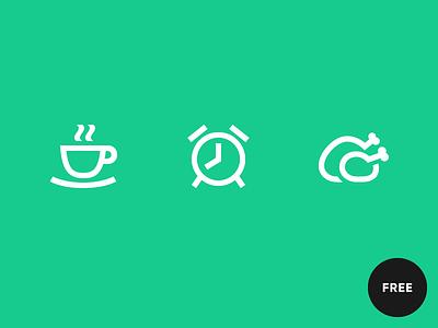 60 Free icons in Gizmo style turkey alarm clock coffee outline icon icons gizmo