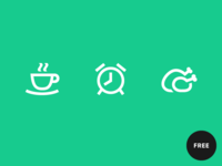 60 Free icons in Gizmo style