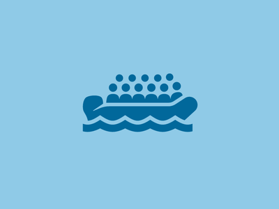 Refugees icon dutch government mediterranean sea icons icon refugees