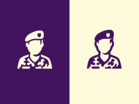 Ground Forces Icon for the Dutch Government