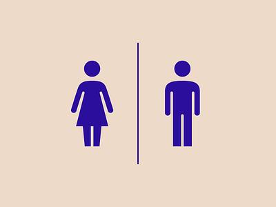 Toilet icon for Transavia Airlines custom icons custom icon design transavia icon design icon icons sign toilet