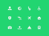 Airport Icons Transavia