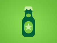[Dutch] beerbottle [Icon]