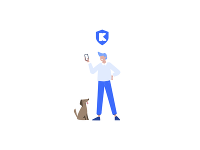 Kaus Insurance design ui figma logodesign logo illustration