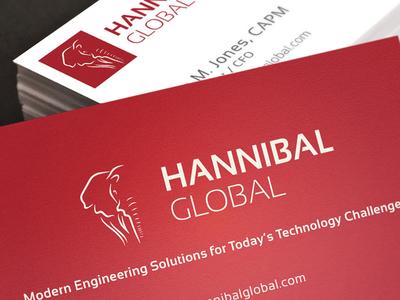 Hannibal Global Logo Design logo design debut brand symbol hannibal global