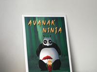 Avanak ninja poster large