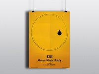 EOI House Music Party Poster