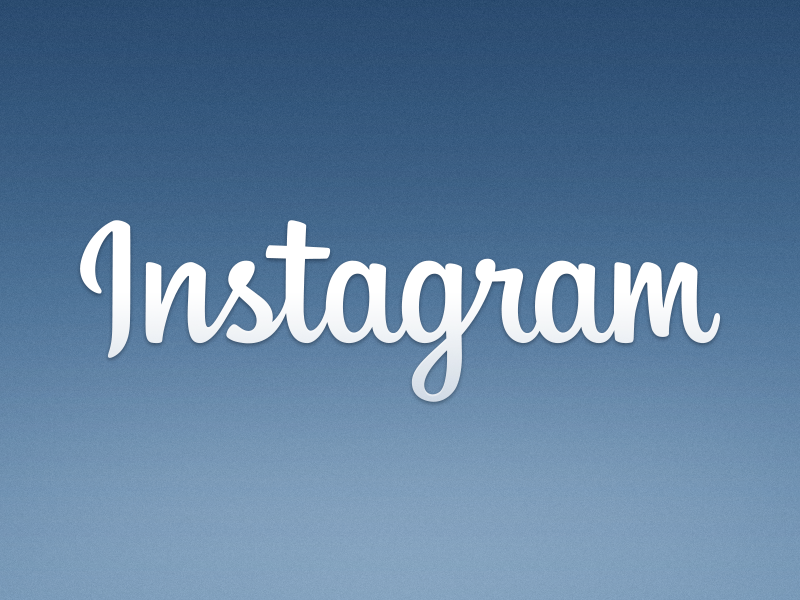 A New Instagram Logo instagram logo blue branding mackey mackeysaturday
