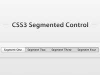 CSS3 Segmented Control