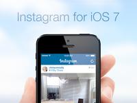 Instagram for iOS 7!