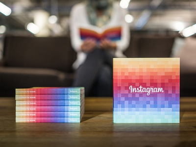 Instagram Handbook for Brands instagram handbook print rainbow color book jezburrows pingzoo