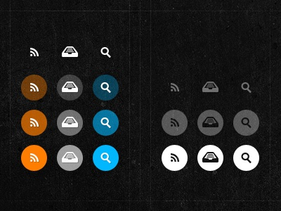 Re-iterating Blog UI Elements miekd blog black ui