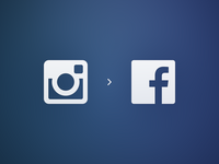 A different hue of blue. facebook fb instagram ig search blue