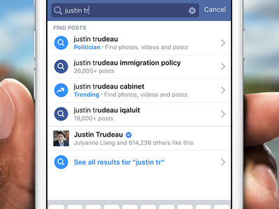 Major Update to Facebook Search