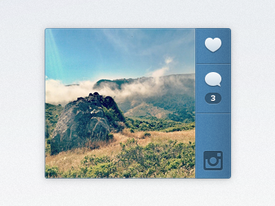 Instagram's New Photo Page instagram photo blue web