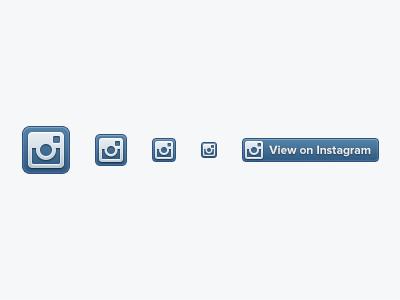 Dribbble   instagram badges  1x