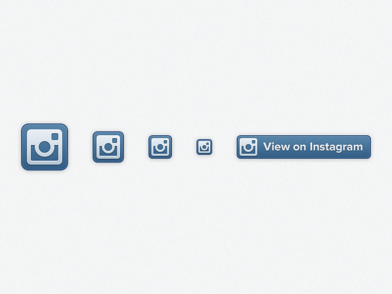 Instagram Profile Badges instagram icons glyph profile badges blue highlights retina