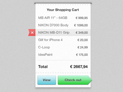 Checkout – Print State shoppingcart ui web shopping cart paper buttons basket