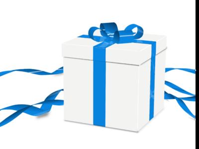 Gift box ilustration gift box box