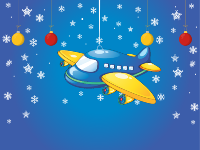 Baby Toy ( Aircraft) ilustration frozen background aircraft
