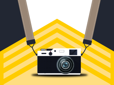 Capture the world 2 pro designer belt lance ilustration background camera