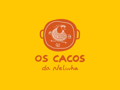 Os cacos da Nelinha - Branding portugal decor branding design crockery design logo handmade font handmadefont logo design branding