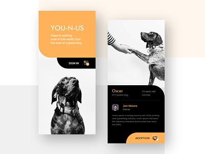 YOU-N-US Dog Adoption App